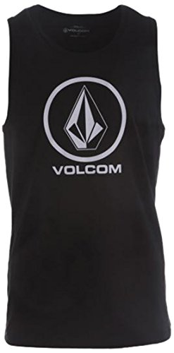 Volcom Circle Stone Basic Tank Top Débardeur Homme, Noir (Black), X-Small (Taille Fabricant: XS)