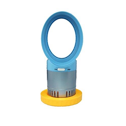 Nessuna foglia alimentazione ventola turbo-leaf ventola USB mini aria condizionata ventilatore, blu