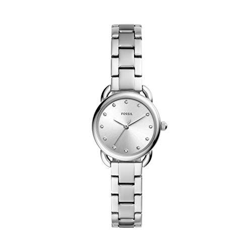 Fossil Damen Analog Quarz Uhr mit Edelstahl Armband ES4496