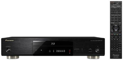Pioneer BDP-440 3D Blu-ray Player (HDMI, DLNA, DivX Ultra-zertifiziert, 2x USB, WLAN) schwarz
