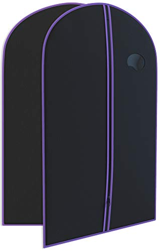 """Purple Suit Garment Travel Bags -Heavy Duty and Lightweight 40"""" X 24"""" -Your Bags"""