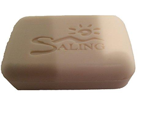 Saling - Bio Schafsmilchseife - Seife mit Kokos/Sahne-Duft im Stück - 100g