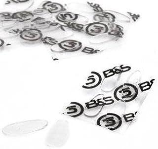 2 paar (4 stuks) neuspads om op te plakken van siliconen - 4 maten - hoogte 1,0 mm (17 mm (2x4))