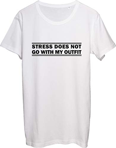 Stress Does Not Go with My Outfit - Camiseta para hombre