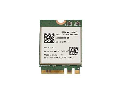 Lenovo Adaptador WLAN/Bluetooth WLAN 802.11ac/abgn Original para la série ThinkCentre M700 Tiny (10HY/10J0/10JM/10JN)