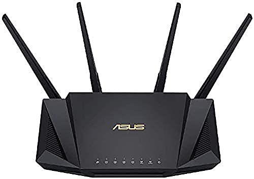ASUS WiFi 無線 ルーター WiFi6 2402+574Mbps デュアルバンド RT-AX3000 メッシュ機能付 3階建/4LDK PS5/Nintendo Switch/iPhone/android 対応