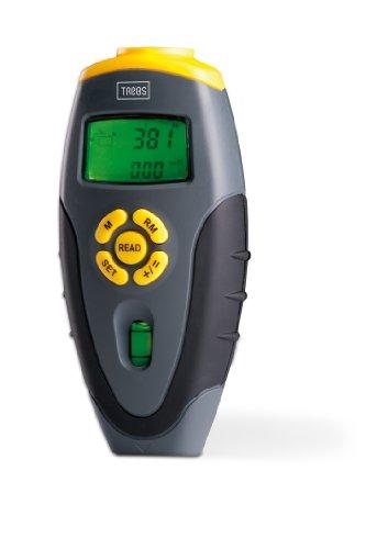 Trebs 99732 afstandsmeter met laserpointer, laser. afstandsmeter, afstandsmeter, verlicht display, omgevingstemperatuur, incl. batterij