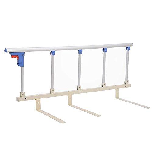 ZHAS Bettgitter für ältere Menschen - Krankenhaus-Sicherheits-Bettgitter für Senioren, Handlauf am Bett, Handlauf für ältere Erwachsene für Kingsize-Queensize-Einzelbett, Haltegriff für Handicaps
