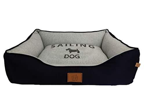 Cama Fábrica Pet para Cães, Médio, Azul