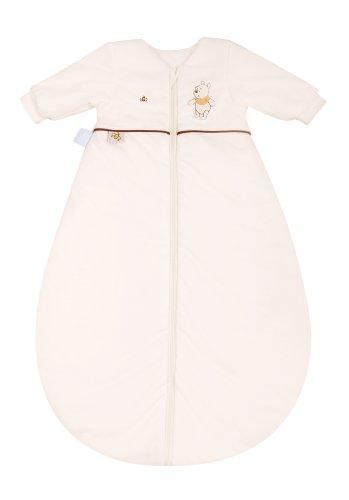 Julius Zöllner 9240347200 - Disney Schlummerle Plus Schlafsack Jersey, mit Arm, ecru, 110 cm