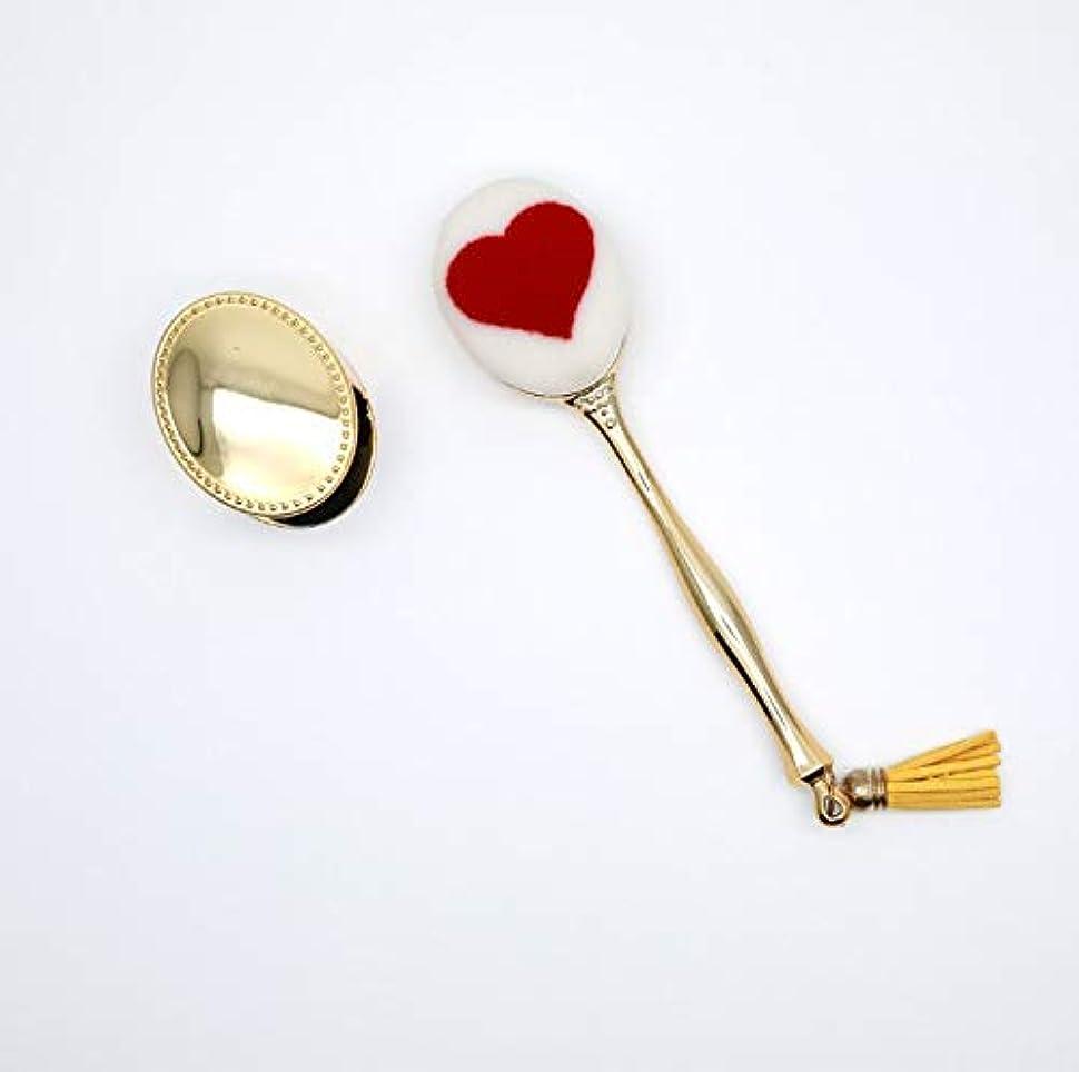 電極人質統合Chaopeng 化粧ブラシセット、ファンデーションブラシ付きシングルカバー、歯ブラシ化粧ブラシ、プロの化粧ブラシ化粧ギフト (Color : ゴールド)