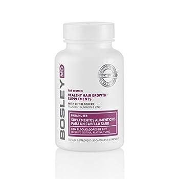 BosleyMD Women s Hair Growth Supplement  2 Month Supply