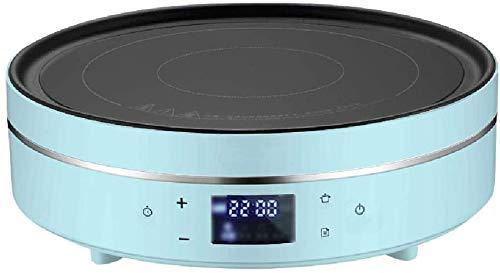 Placa de inducción portátil negro casa panel eléctrico microcristalina vitrocerámica con protección...