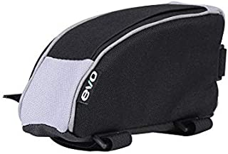 EVO Clutch Bike Frame Bag - Adjustable Velcro Mount - Carry Energy Bar Keys Cell Phone- Bento Cycling Bag Perfect for Triathalon Road or Mountain Bikes