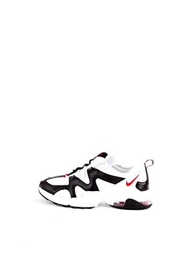 Nike Air MAX Excee, Zapatillas de Running para Asfalto Hombre, Multicolor (Blanco White Univ Red Black 100), 45 EU