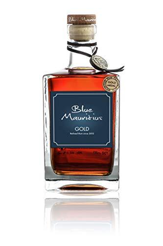 Blue Mauritius Gold Rum 40% Flasche 700m