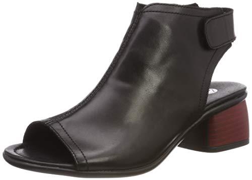 Remonte Damskie sandały R8770 Slingback, czarny - Czarny czarny 01-39 eu