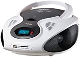 Lauson CP440 Portable CD Player with Bluetooth Boombox MP3/USB Playback, SD Card Slot and FM Radio