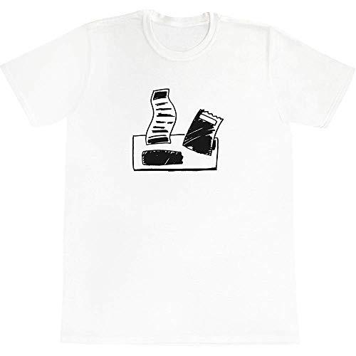 Azeeda \'Papierrechnungen\' Baumwoll-T-Shirt für Erwachsene (Groß) (TA00024791)