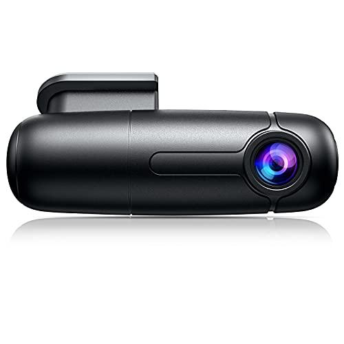 WiFi Mini Dash Cam Full HD 1080p Car Camera 150° Wide Angle with Super Capacitor Vehicle Driving Video Recorder 360° Rotatable Lens G-Sensor Loop Recording Parking Mode Blueskysea B1W