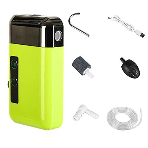 Mini Oxygène Pompe À Air Mini LED Éclairage De L'aquarium Capteur D'oxygène USB Pompe À Air Matériel De Pêche Pompe De Lavage des Mains