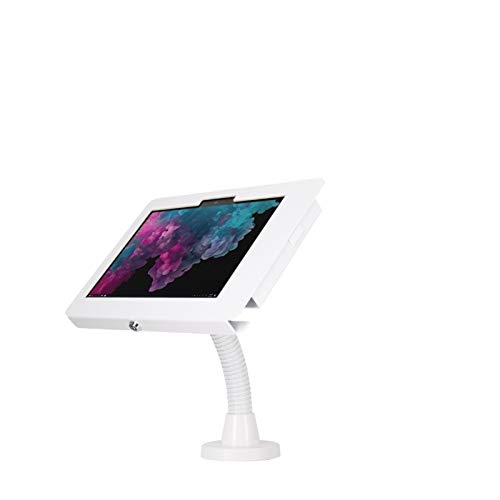 The Joy Factory KAM506W Flexible Wall or Arm Counter Stand Compatible with Surface Go White