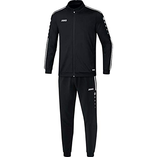 JAKO Kinder Striker 2.0 Trainingsanzug Polyester, schwarz/Weiß, 140