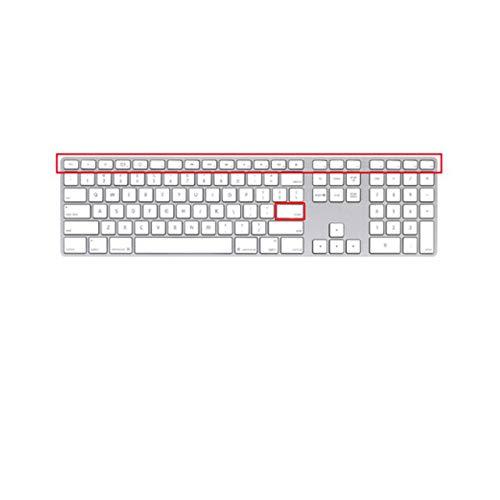 Carcasa para teclado Magic Keyboard de silicona A1644 A1314 A1243 para Apple con llave Number A1843-A1243 US