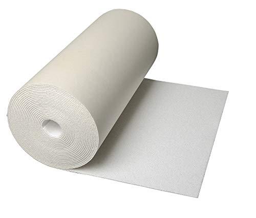 CLIMAPOR weiße Dämmtapete pappkaschiert, 7,5 x 0,5 m x ~ 4 mm, 2 Rollen (= 7,5 qm), EPS - Innenraum-Dämmung - Isoliertapete