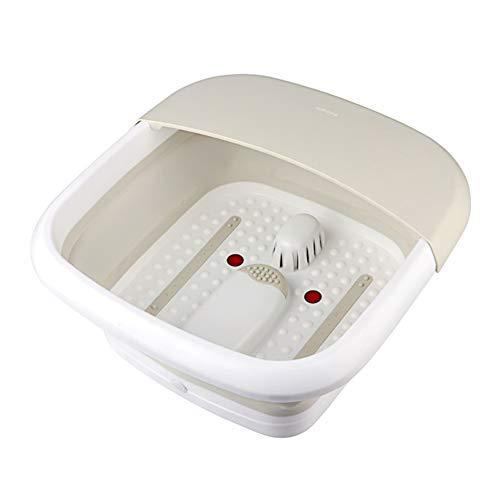 XDXDO Portable Foot Bath Barrel Rouleau Multi-Fonctions Pliant en Plastique Accueil en Plein Air Voyage De Massage Pied Bath Barrel Grande Capacité Concave Design