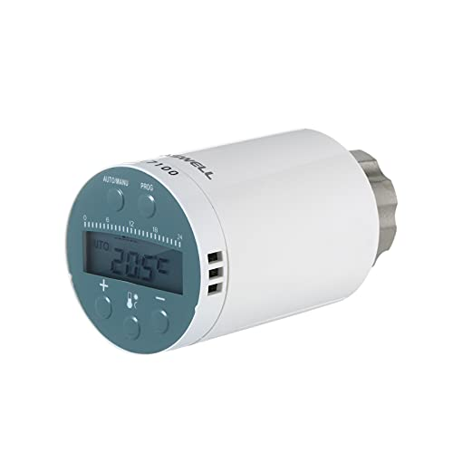 skrskr SEA801-ZIGBEE Termostato de radiador de calefacción...