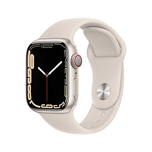 Apple Watch Series 7 GPS + Cellular,...