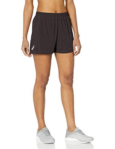 ASICS Damen 7,6 cm gewebte Shorts, Damen, Shorts, 3in Woven Short, Team Black, Large