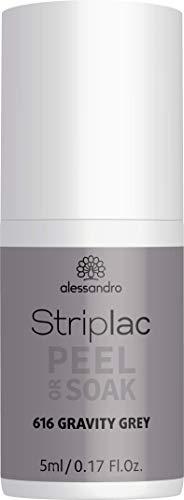 alessandro Striplac Peel or Soak - LED-Nagellack Space Girl Kollektion / Gravity Grey, 5 ml