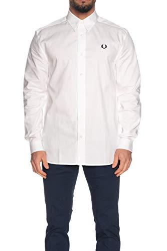 Fred Perry SM8090 Camicia Uomo Bianco XL