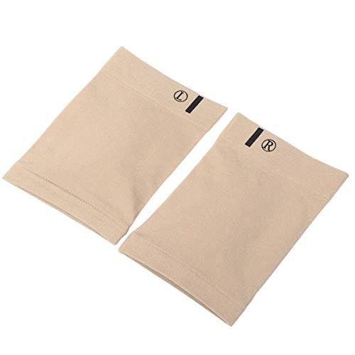 Healifty Fotvalv bandage båge stöd fotkuddar ortopediska innersulor strumpor platta fötter hälsporre plantar fasciit kompression bandage khaki
