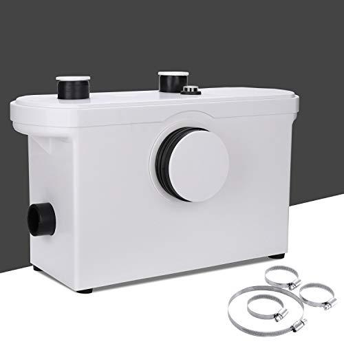 Karpal 600W Abwasserpumpe 140 L/min, Abwassertauchpumpe 230V 50Hz, Fäkalienpumpe mit integriertem Rückschlagventil, Schmutzwasserpumpen, WaschbeckenHaushaltspumpe, Geeignet für Küche, WC