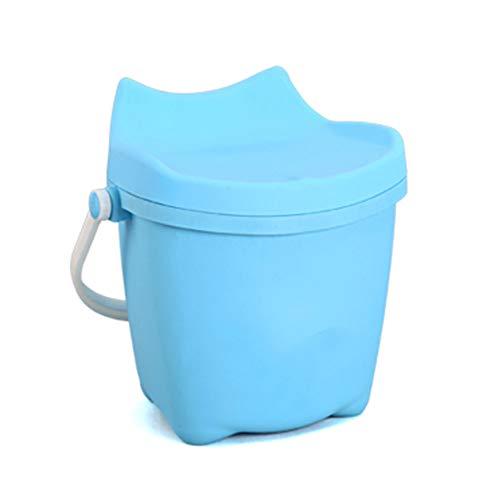 WJH Thicken kan met de hand worden gehouden PP materiaal plastic emmer, Multi-Kinetic energie met deksel opslag emmer - Geschikt voor thuis/ouder-kind/buiten