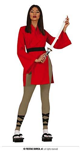 FIESTAS GUIRCA Disfraz de Mujer herona guerrera legendaria China