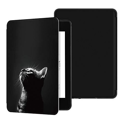 Lobwerk Custodia per Amazon Kindle 2019 (10° generazione) 6 pollici Smart Cover con funzione di supporto e funzione Auto Sleep/Wake