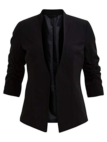 Vila Damen Viher New Blazer-noos Blazer, Black, S EU