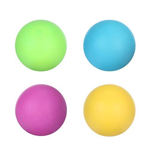 Juguetes blandos, bola de estrés, juguete de bola de descompresión de ventilación de goma suave, bola de extrusión elástica VA que cambia de color, juguetes sensoriales para niños y adultos