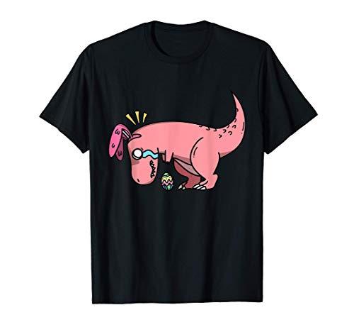 La chasse aux œufs de dinosaure de Pâques T-Rex est sur un T-Shirt