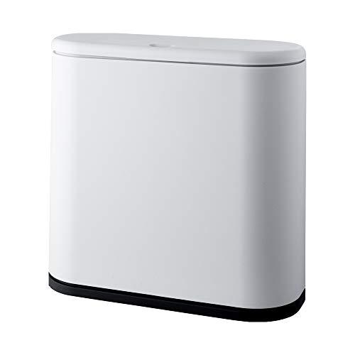 LOKIH vuilnisbak huishoudelijke classificatie vuilnis droog en nat bedekt vuilnisbak badkamer dual-use classificatie intelligente vuilnisbak thuis keuken multifunctionele grote capaciteit vuilnisbak