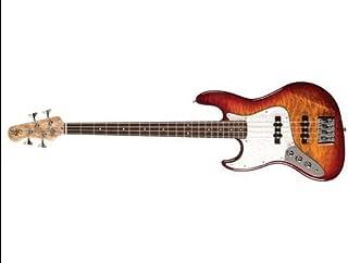 $977 » Element 4Q Electric Bass Guitar (Aged Cherryburst)