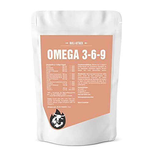 Omega 369 (500 cápsulas blandas á 1000mg) Omega 3 6 9 -...
