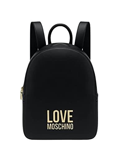 Love Moschino Collezione Autunno Inverno 2021, Zaino Donna, Nero, Unica