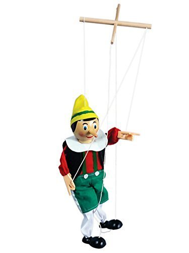 The Original Toy PINN Pinocchio Marionette, 15-Inch by The Original Toy Company