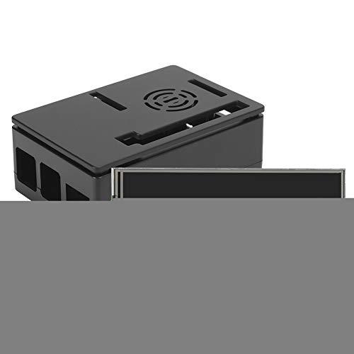 Bindpo For Raspberry Pi 4B Set, for Raspberry Pi 4B ABS Shell + 3.5‑inch Display + Heat Sink, 3.5‑inch Display for Raspberry Pi 4B/3B+/3B/2B Motherboard