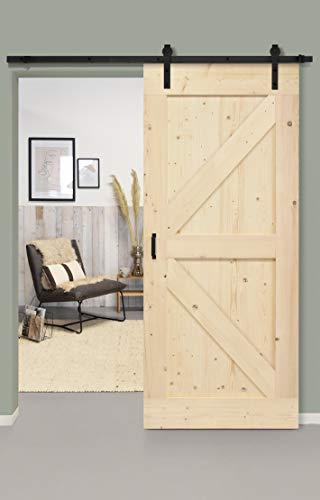 Barnwoodweb -  Lofttür aus